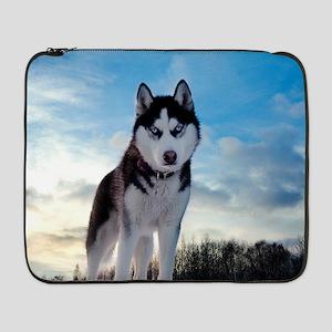 "Husky Dog Outdoors 17"" Laptop Sleeve"