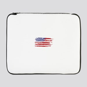 """home of the brave 17"""" Laptop Sleeve"""