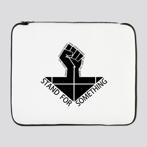 "stand for something 17"" Laptop Sleeve"