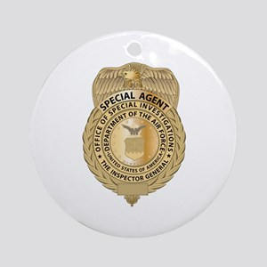 OSI Badge Ornament (Round)