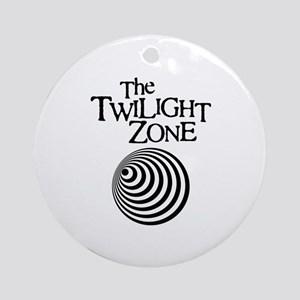 Twilight Zone Round Ornament