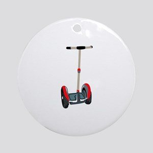 SEGWAY TRANSPORTATION Round Ornament