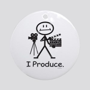 Producer Ornament (Round)