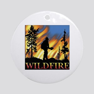Wildfire Ornament (Round)