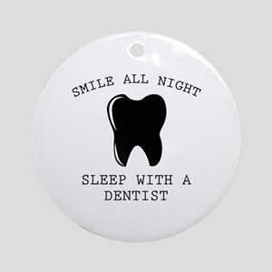 Smile All Night Ornament (Round)