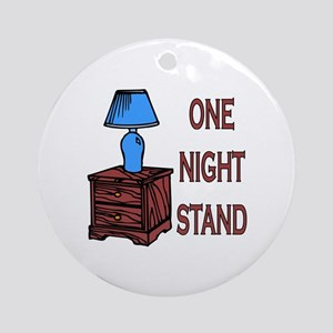 One Night Stand Ornament (Round)