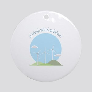 A Wind-wind Solution Ornament (Round)