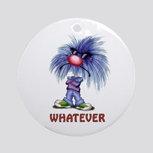 Zoink Whatever Ornament (Round)