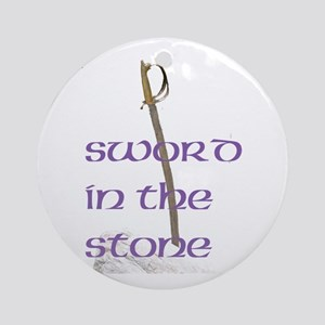 SWORD IN THE STONE™ Ornament (Round)