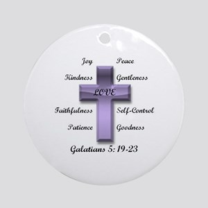Fruit of the Spirit Ornament (Round)