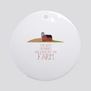 Farm Memories Ornament (Round)
