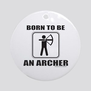 ARCHER/ARCHERY Ornament (Round)