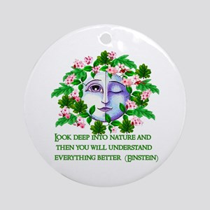 Pagan Spring Goddess Ornament (Round)