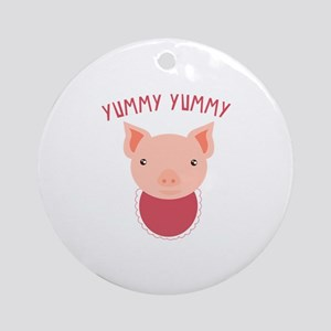 Yummy Yummy Ornament (Round)