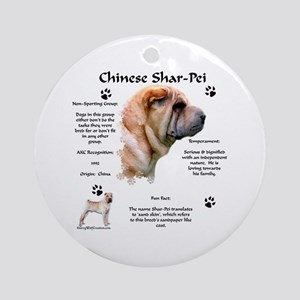 SharPei 1 Ornament (Round)
