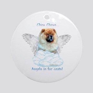 Chow 3 Ornament (Round)