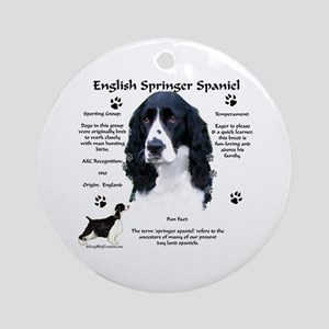 Springer 1 Ornament (Round)