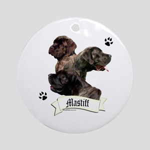 Brindle 17 Ornament (Round)