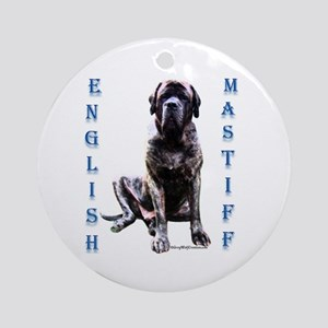 Brindle 8 Ornament (Round)
