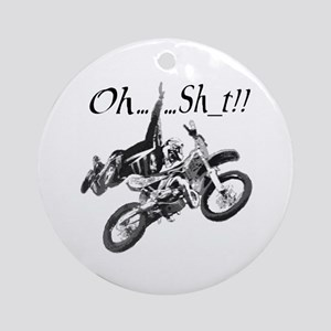 """Oh......Sh_t!!"" Ornament (Round)"