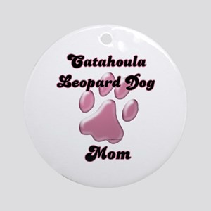 Catahoula Mom3 Ornament (Round)