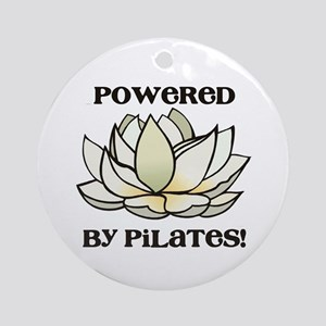 Powered by Pilates Lotus Ornament (Round)
