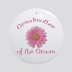 Daisy Groom's Grandmother Ornament (Round)