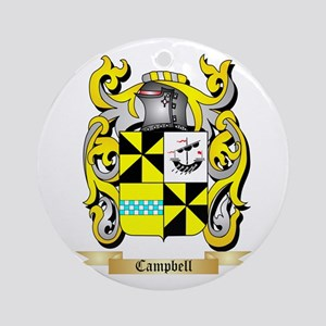 Campbell 2 Ornament (Round)