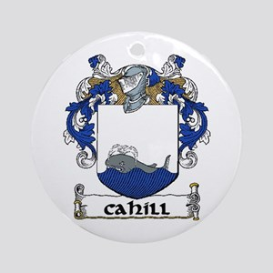 Cahill Coat of Arms Ornament (Round)