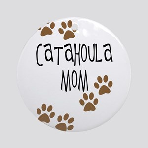 Catahoula Mom Ornament (Round)