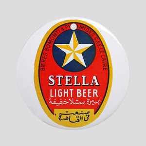 Egypt Beer Label 1 Ornament (Round)