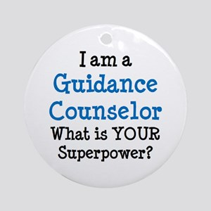 guidance counselor Round Ornament