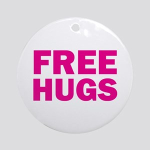 Free Hugs Ornament (Round)