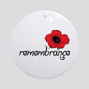Remembrance Ornament (Round)