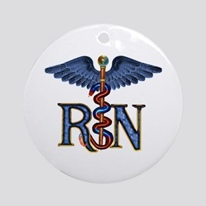RN Caduceus Keepsake (Round)