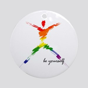 Gay Pride - Be Yourself Keepsake (Round)