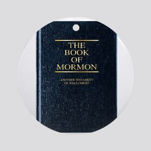 The Book of Mormon Round Ornament