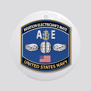 Aviation Electrician's Mate - Nec Ornament (round)