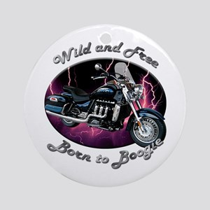 Triumph Rocket III Touring Ornament (Round)