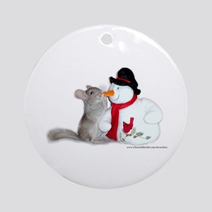 Kissy Round Ornament