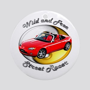 Mazda MX-5 Miata Ornament (Round)