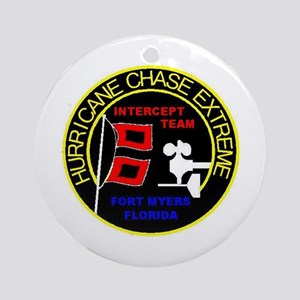 Hurricane Chase Extreme Ornament (Round)