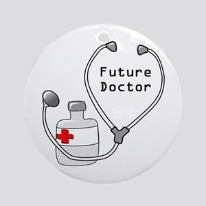 Future Doctor Ornament (Round)