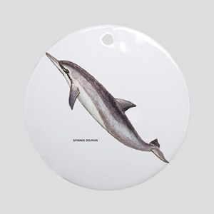 Spinner Dolphin Ornament (Round)