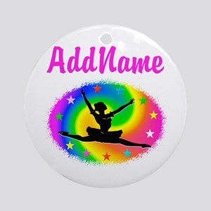 DANCING PRINCESS Ornament (Round)