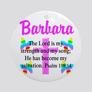 PSALM 118:14 VERSE Ornament (Round)