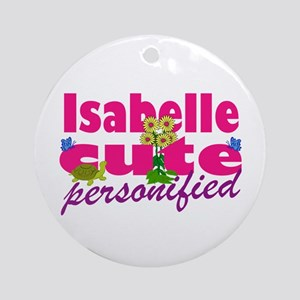 Cute Isabelle Ornament (Round)