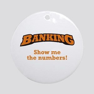 Banking / Numbers Ornament (Round)