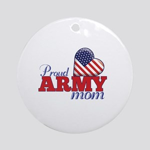 Proud Army Wife - Ornament (Round)