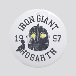Iron Giant Round Ornament